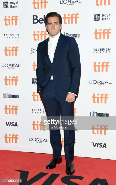 Jake Gyllenhaal attends the The Sisters Brothers premiere during 2018 Toronto International Film Festival at Princess of Wales Theatre on September 8...