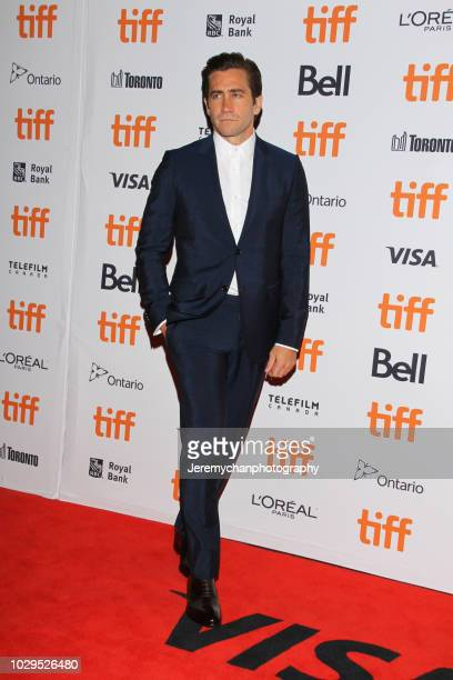Jake Gyllenhaal attends the 'The Sisters Brothers' Premiere during the 2018 Toronto International Film Festival at Princess of Wales Theatre on...