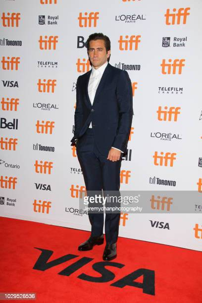 """Jake Gyllenhaal attends the """"The Sisters Brothers"""" Premiere during the 2018 Toronto International Film Festival at Princess of Wales Theatre on..."""