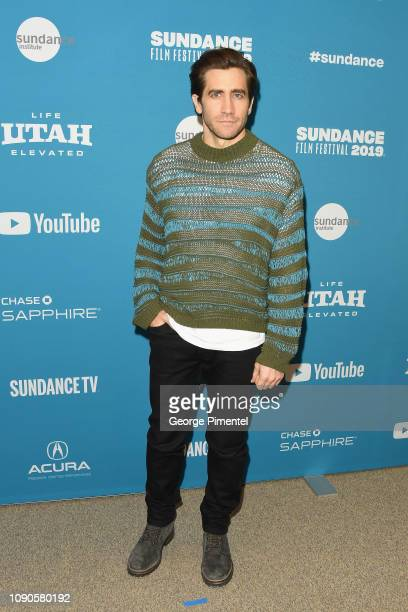 Jake Gyllenhaal attends the Velvet Buzzsaw Premiere during the 2019 Sundance Film Festival at Eccles Center Theatre on January 27 2019 in Park City...
