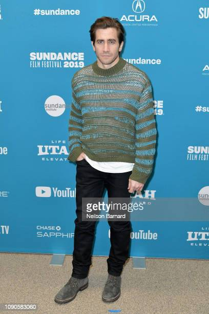 "Jake Gyllenhaal attends the ""Velvet Buzzsaw"" Premiere during the 2019 Sundance Film Festival at Eccles Center Theatre on January 27, 2019 in Park..."