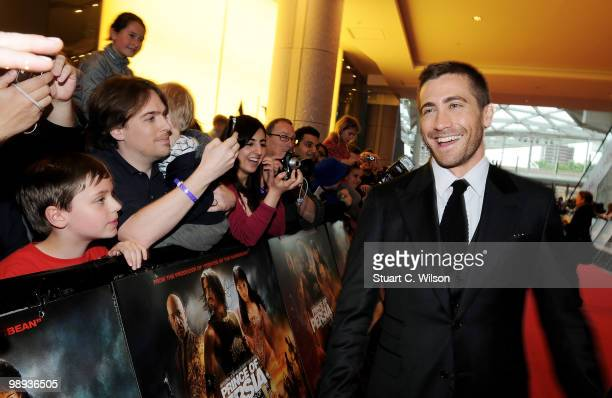 Jake Gyllenhaal attends the World Premiere of 'Prince of Persia: The Sands of Time' at the Vue Westfield on May 9, 2010 in London, England.