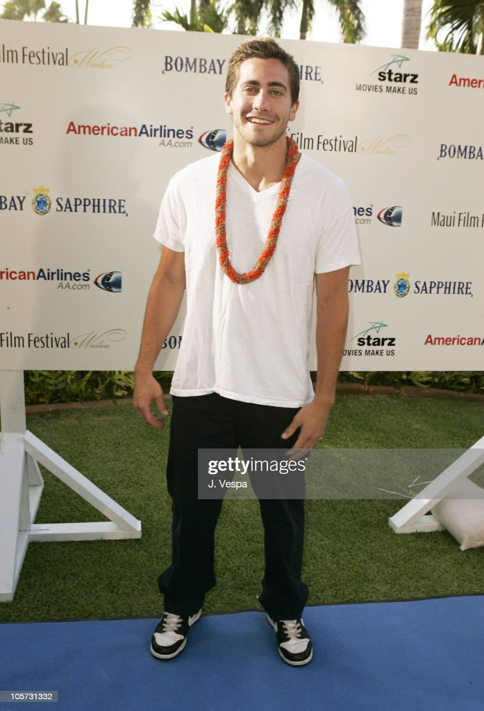 Jake Gyllenhaal during 2005 Maui Film Festival - Tribute to Jake Gyllenhaal at Marriott Wailea in Maui, Hawaii, United States.
