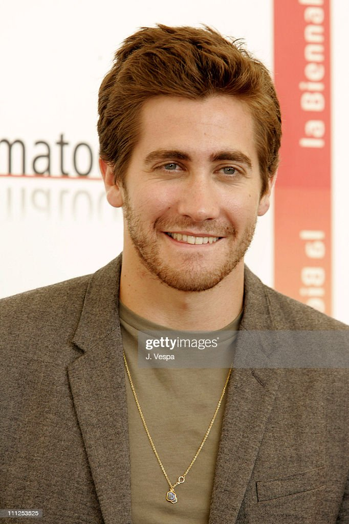 Jake Gyllenhaal during 2005 Venice Film Festival - 'Brokeback Mountain' Photocall at Casino Palace in Venice Lido, Italy.