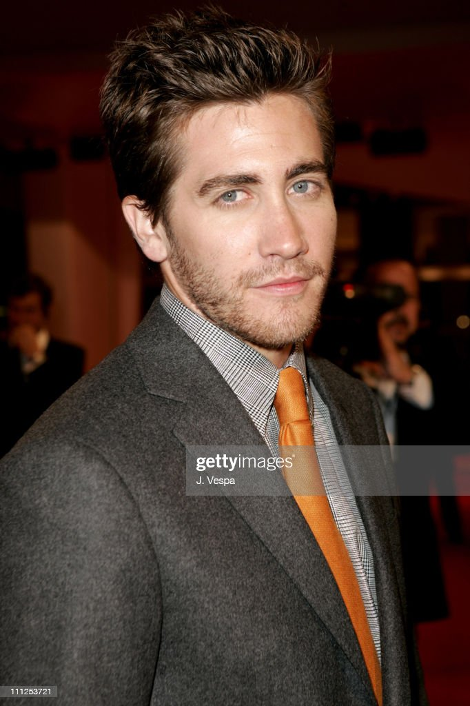 Jake Gyllenhaal during 2005 Venice Film Festival - 'Brokeback Mountain' Premiere at Palazzo del Cinema in Venice Lido, Italy.