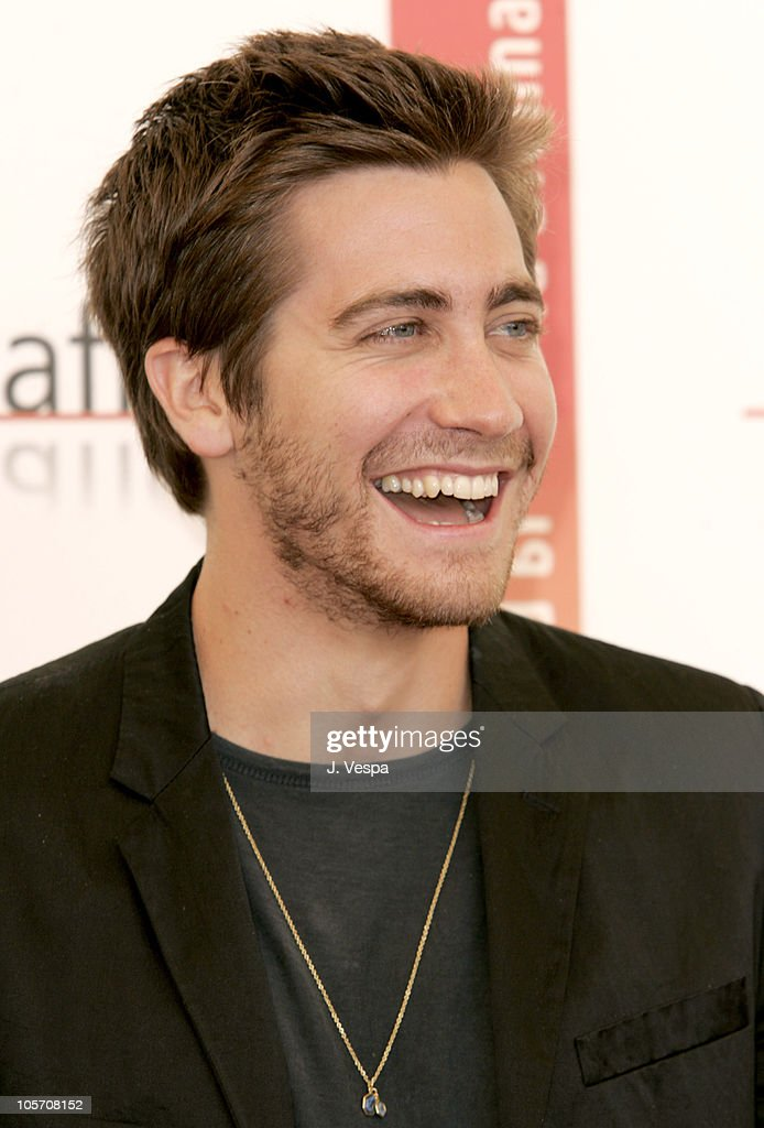 Jake Gyllenhaal during 2005 Venice Film Festival - 'Proof' Photocall at Casino Palace in Venice Lido, Italy.