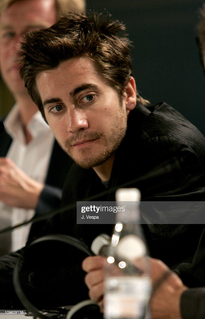 Jake Gyllenhaal during 2005 Venice Film Festival - 'Proof' Press Conference at Casino Palace in Venice Lido, Italy.