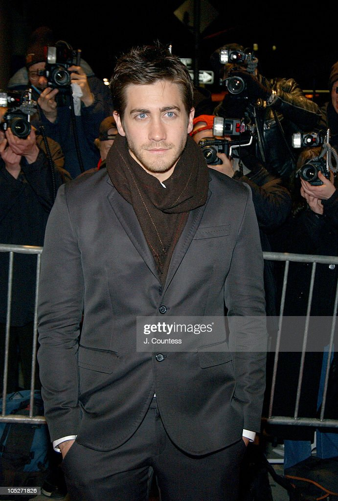 Jake Gyllenhaal during A Work in Progress : An Evening with Sofia Coppola - Outside Arrivals at The Gramercy Theatre in New York City, New York, United States.
