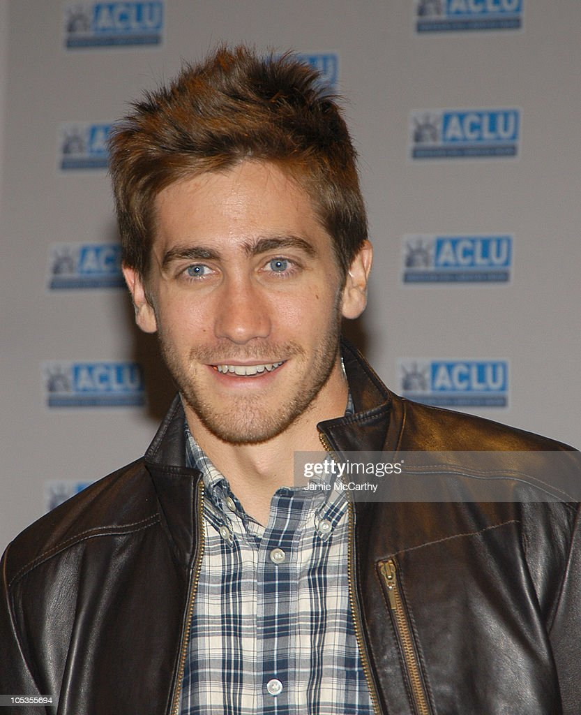 Jake Gyllenhaal during The ACLU Freedom Concert - Arrivals at Avery Fisher Hall at Lincoln Center in New York City, New York, United States.