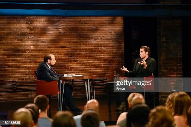 STUDIO Jake Gyllenhaal Episode 1903 Pictured Host James Lipton actor Jake Gyllenhaal