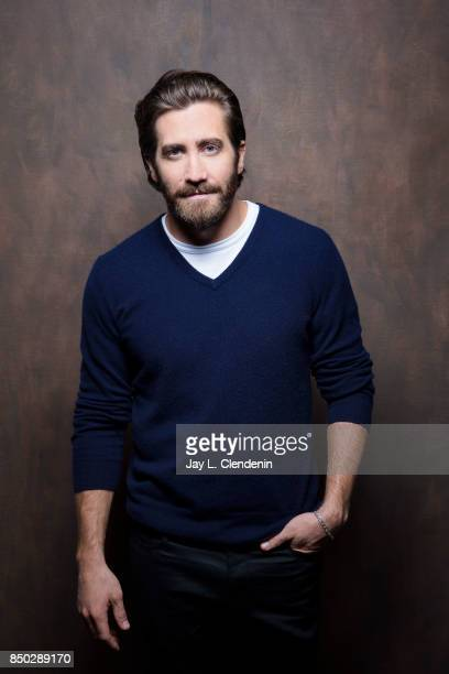Jake Gyllenhaal from the film 'Stronger' poses for a portrait at the 2017 Toronto International Film Festival for Los Angeles Times on September 8...