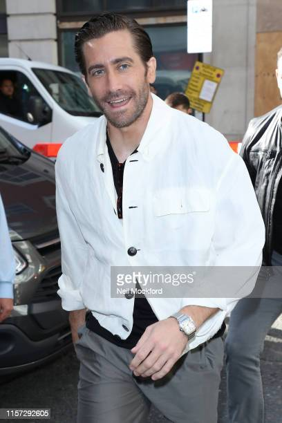 Jake Gyllenhaal seen at BBC Radio 2 on June 21 2019 in London England