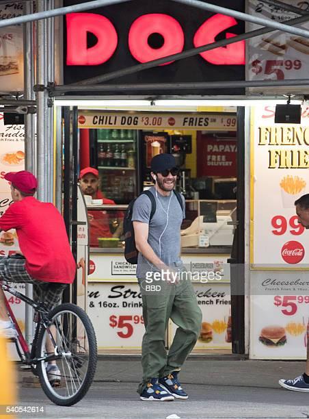 Jake Gyllenhaal seen on June 15 2016 in New York City