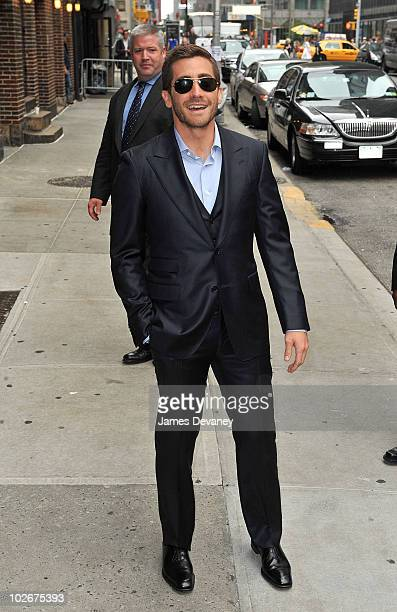 Jake Gyllenhaal visits 'Late Show With David Letterman' at the Ed Sullivan Theater on May 24 2010 in New York City