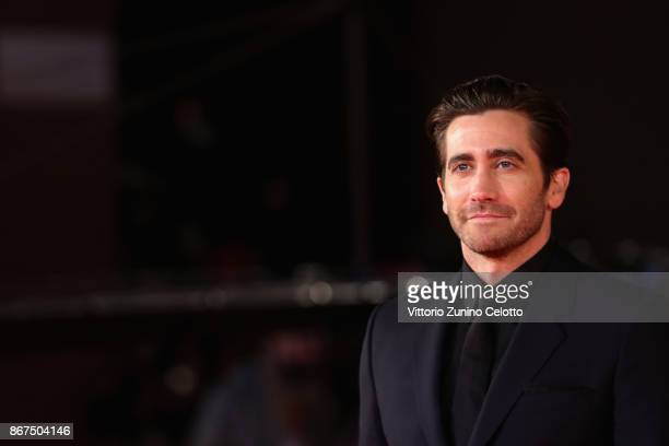 Jake Gyllenhaal walks a red carpet for 'Stronger' during the 12th Rome Film Fest at Auditorium Parco Della Musica on October 28, 2017 in Rome, Italy.