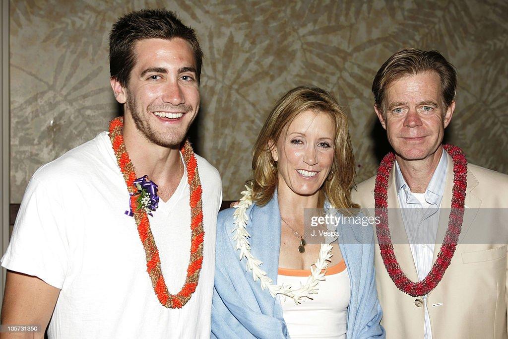 Jake Gyllenhaal, William H. Macy and Felicity Huffman