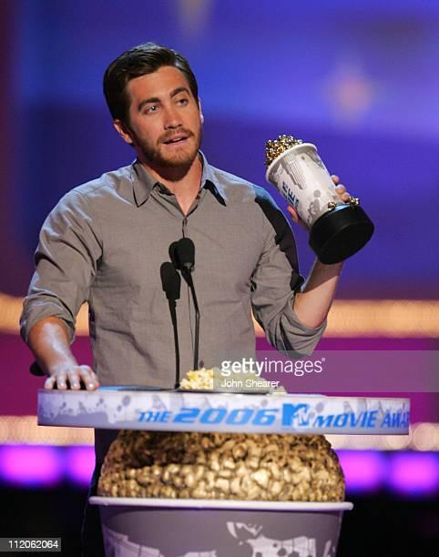Jake Gyllenhaal winner of Best Kiss for Brokeback Mountain