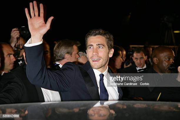 Jake Gyllenhall after the premiere of 'Zodiac' during the 60th Cannes Film Festival