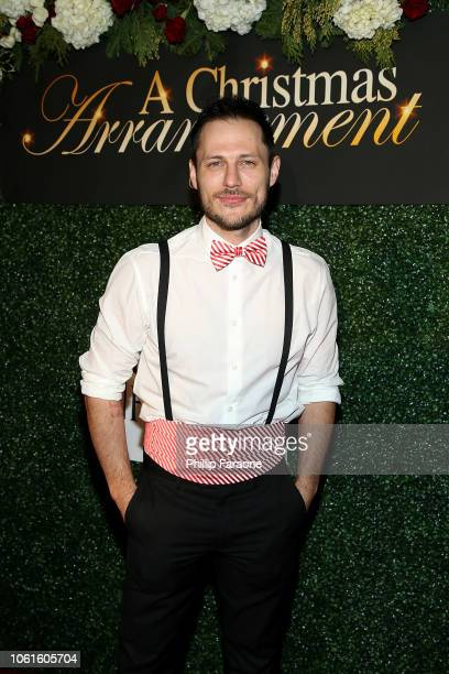 Jake Helgren attends A Christmas Arrangement Los Angeles premiere at Garry Marshall Theatre on November 14 2018 in Burbank California