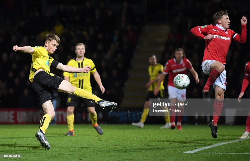 Burton Albion v Nottingham Forest - Carabao Cup Fourth Round : News Photo