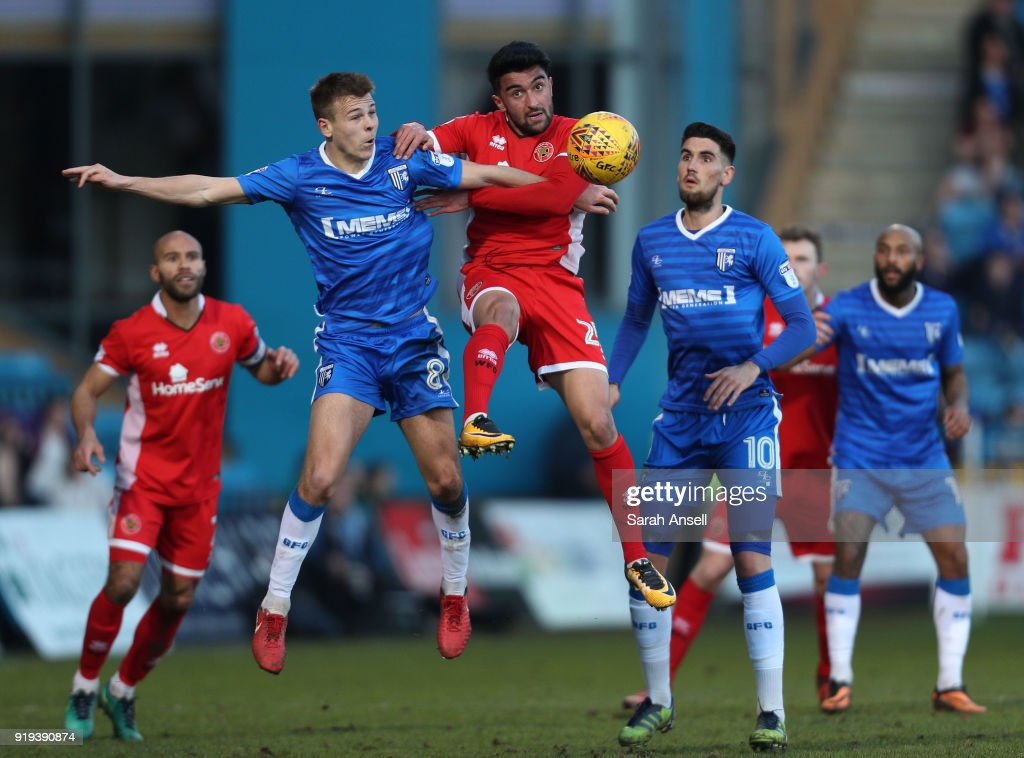Gillingham v Walsall - Sky Bet League One