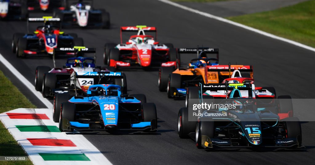 Formula 3 Championship - Round 8:Monza - First Race : News Photo