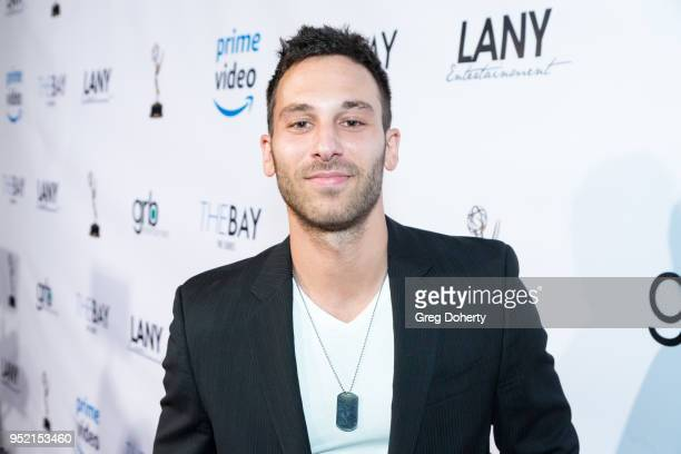 Jake Hunter attends The Bay's PreEmmy Red Carpet Celebration at 33 Taps Hollywood on April 26 2018 in Los Angeles California