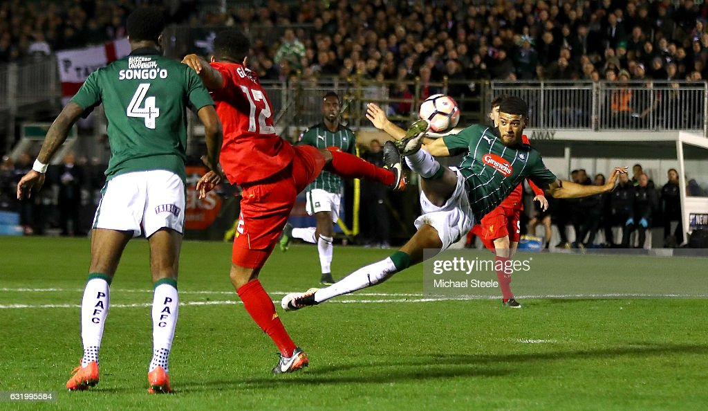 Plymouth Argyle v Liverpool - The Emirates FA Cup Third Round Replay : ニュース写真