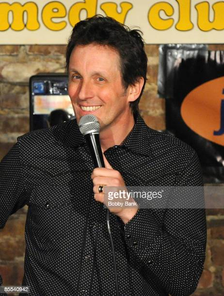 Jake Johannsen headlines at The Stress Factory on March 20, 2009 in New Brunswick, New Jersey.