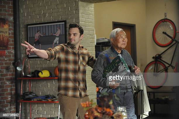 """Jake Johnson and Ralph Ahn in the """"Thanksgiving IV"""" episode of NEW GIRL airing Tuesday, Nov. 25, 2014 on FOX."""