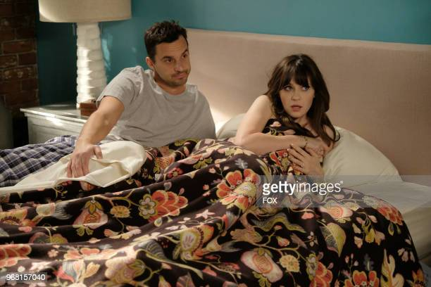 """Jake Johnson and Zooey Deschanel in """"The Curse of the Pirate Bride,"""" the first part of the special one-hour series finale episode of NEW GIRL airing..."""