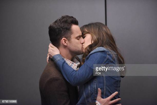 """Jake Johnson and Zooey Deschanel in the """"Five Stars for Beezus"""" season finale episode of NEW GIRL airing Tuesday, April 4 on FOX."""