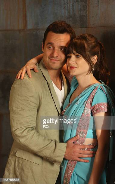 """Jake Johnson and Zooey Deschanel star in the """"Elaine's Big Day"""" season finale episode of NEW GIRL airing Tuesday, May 14, 2013 on FOX."""