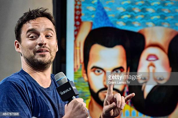 Jake Johnson attends the AOL's BUILD Speaker Series Presents 'Digging For Fire' at AOL Studios in New York on August 21 2015 in New York City