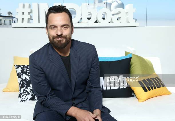 Jake Johnson attends the #IMDboat at San Diego ComicCon 2019 Day Two at the IMDb Yacht on July 19 2019 in San Diego California