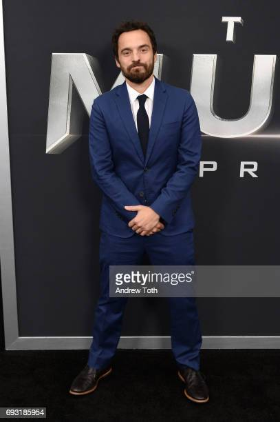 Jake Johnson attends 'The Mummy' New York fan event at AMC Loews Lincoln Square on June 6 2017 in New York City