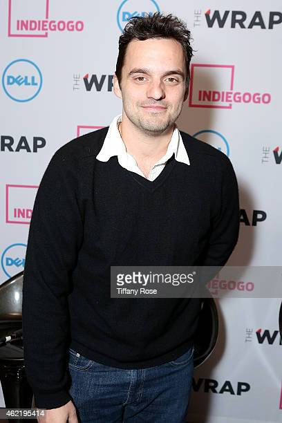 Jake Johnson attends the TheWrap's Live Interview Lounge at Chefdance on January 25 2015 in Park City Utah