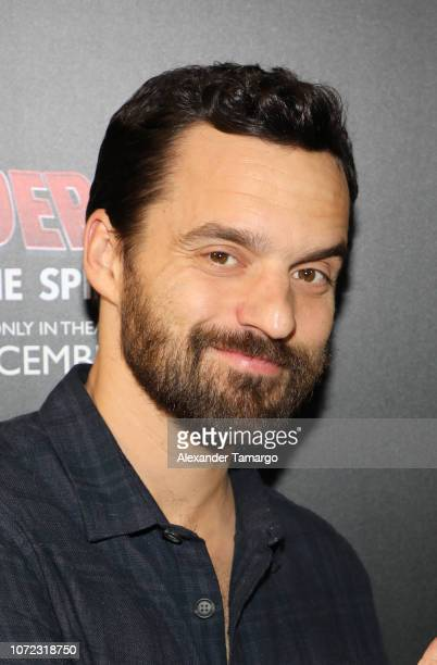 Jake Johnson is seen at the Spider-Man: Into the Spider-Verse Miami Red Carpet Screening at Regal South Beach on December 12, 2018 in Miami Beach,...