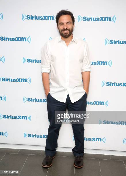 Jake Johnson visits at SiriusXM Studios on June 6 2017 in New York City