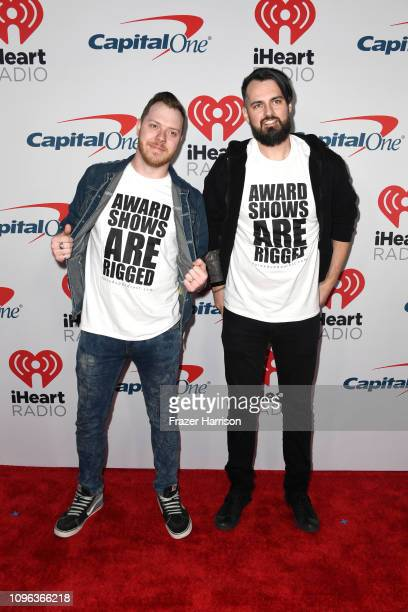 Jake Jones Robert Venable attend the iHeartRadio Podcast Awards Presented By Capital One at iHeartRadio Theater on January 18 2019 in Burbank...
