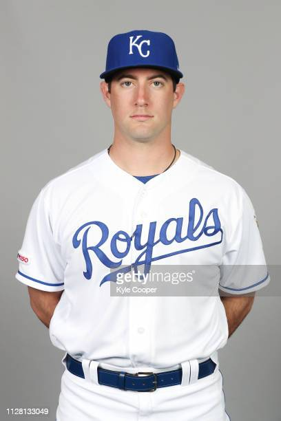 Jake Kalish of the Kansas City Royals poses during Photo Day on Thursday February 21 2019 at Surprise Stadium in Surprise Arizona