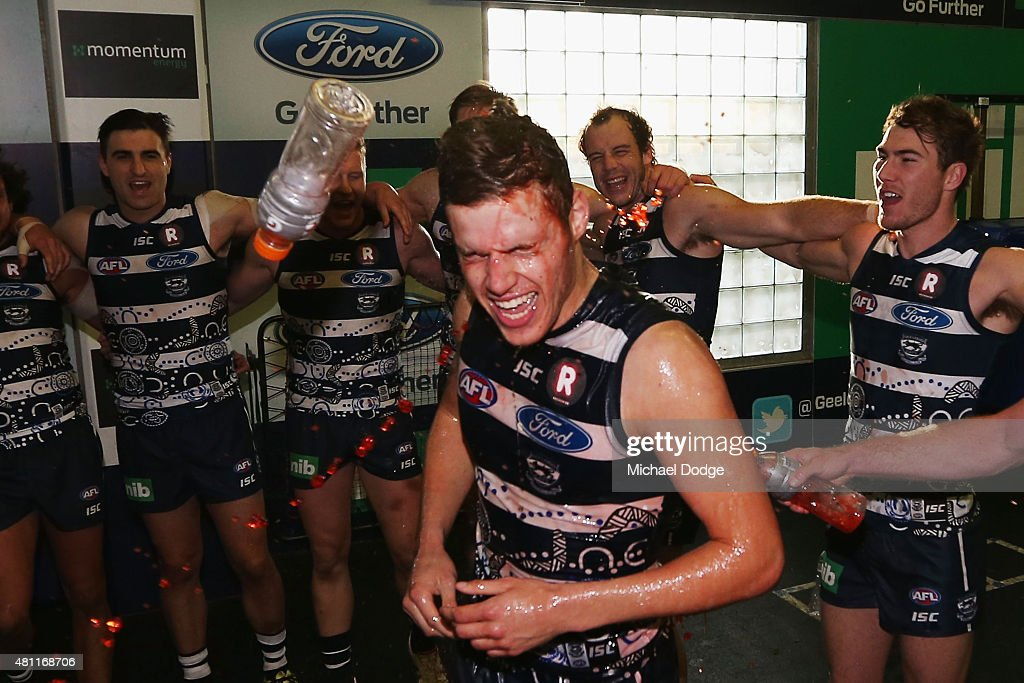 AFL Rd 16 - Geelong v Western Bulldogs : News Photo