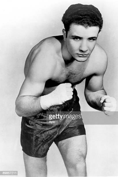 Jake La Motta, american boxe champion, nicknamed Raging Bull 1949