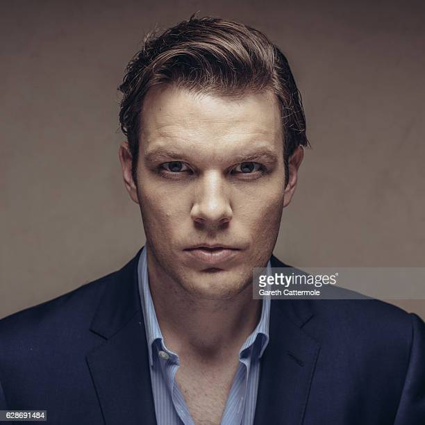 Jake Lacy poses at a portrait session during day two of the 13th annual Dubai International Film Festival held at the Madinat Jumeriah Complex on...