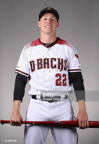 Jake Lamb of the Arizona Diamondbacks poses for a portrait during photo day at Salt River Fields at Talking Stick on February 20 2019 in Scottsdale...