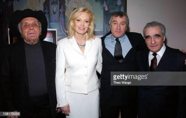 Jake LaMotta Cathy Moriarty Robert De Niro and Martin Scorsese