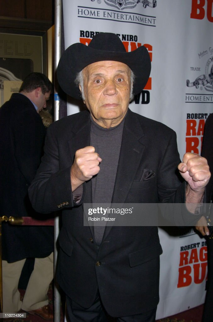 Jake LaMotta during 'Raging Bull' 25th Anniversary and Collector's Edition DVD Release Celebration at The Ziegfeld Theatre in New York, New York, United States.