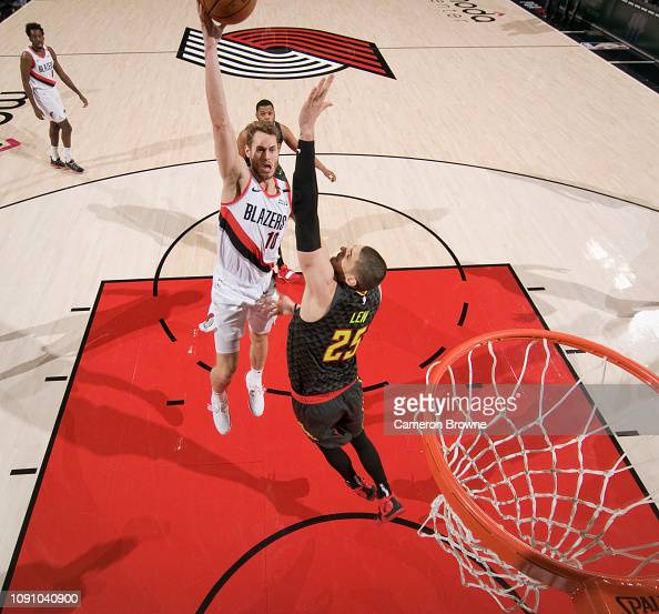 Portland Trail Blazers Layman: Jake Layman Of The Portland Trail Blazers Shoots The Ball