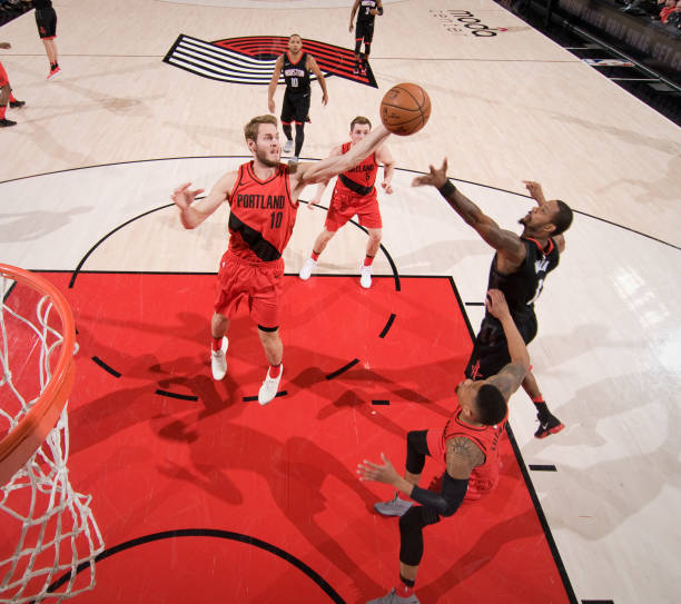 Portland Trail Blazers Layman: Houston Rockets V Portland Trail Blazers Photos And Images
