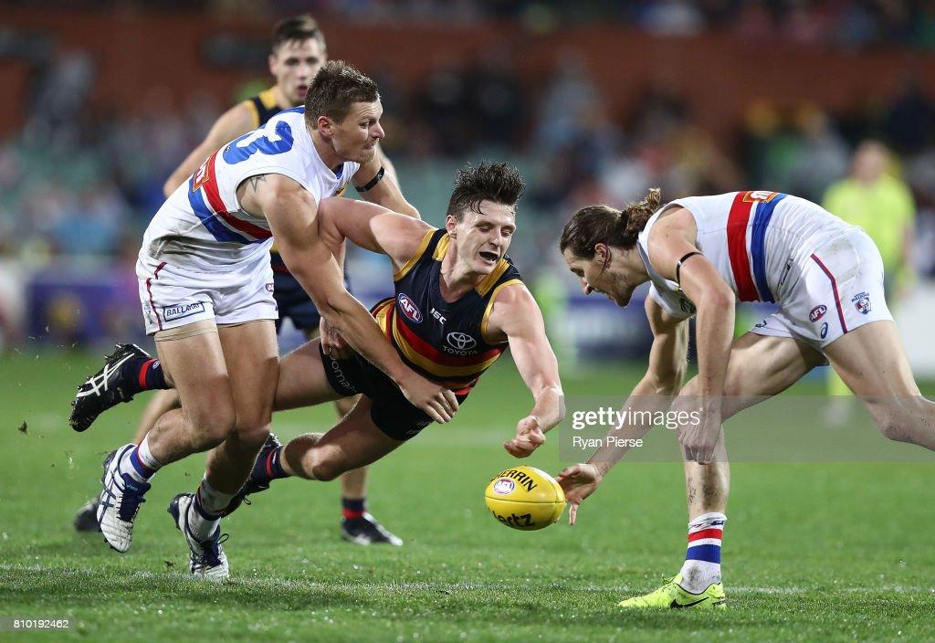 AFL Rd 16 - Adelaide v Western Bulldogs